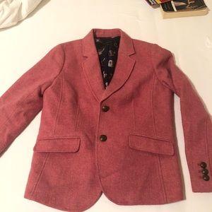 Talbots pink blazer
